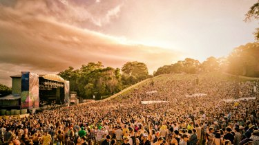 Falls Festival, Byron Bay, is a summer staple.