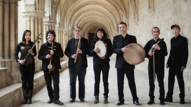 French medieval world folk ensemble La Camera delle Lacrime perform with the Australian Brandenburg Orchestra.