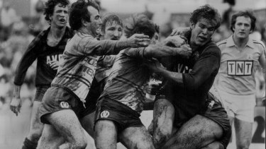 Time machine: A bid for the Gold Coast Titans from the North Sydney Bears could bring back a Bears-Manly grudge match to North Sydney Oval once a year.