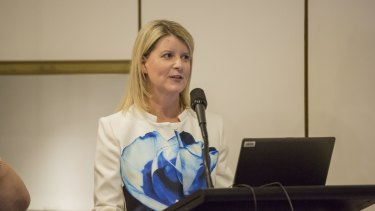 """We must begin with gender equality and respect"": Natasha Stott Despoja, Our Watch chair."