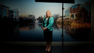 Newly-elected Hills Shire mayor Michelle Byrne.