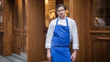 Man with a plan ... chef James Henry is used to cooking for 30 people, not 1400.
