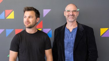 """Lend2Fund co-founders Michael Smolenski and Paul Missio at London's Level39: """"Australia can't match the powerhouse of London."""""""