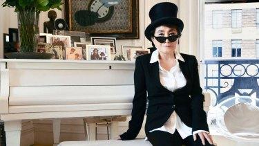 Yoko Ono: Harsh and strangely alluring.