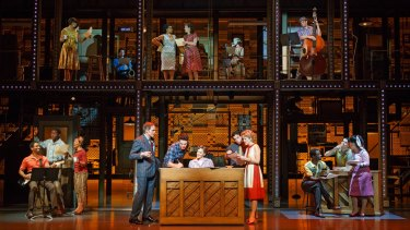 A scene from the musical Beautiful in New York.