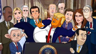 The animated Our Cartoon President needs to develop some teeth, says Brad Newsome.