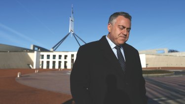 Treasurer Joe Hockey the morning after budget day.