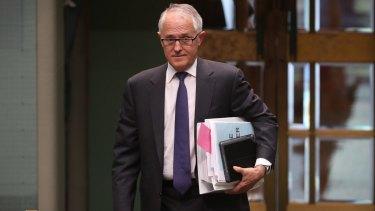 Prime Minister Malcolm Turnbull on Wednesday.