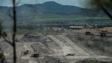 BHP Billiton's Mount Arthur open-cut coal mines near Muswellbrook.