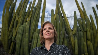 Torch Cactus is just one of many arid plants that inspired Takolander's poetry for the New Shoots project.