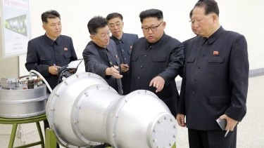 The latest test, possible of a hydrogen bomb that could fit on a long-range missile, came last Sunday just hours before Chinese President Xi Jinping gave the keynote address at the BRICS summit in Xiamen.
