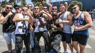 Revelers at Stereosonic Music Festival in Melbourne.