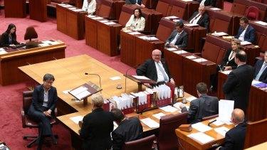 The Senate votes on the same-sex marriage plebiscite on Monday.