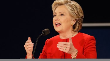 Hillary Clinton branded Trump 'unhinged' over the tweets.