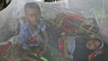 More than 2000 Rohingya refugees have landed on the shores of Aceh province, as well as in neighbouring Malaysia.