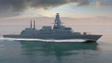 BAE System's Type 26 Global Combat Ship, which is among the contenders for a $35 billion Australian tender.