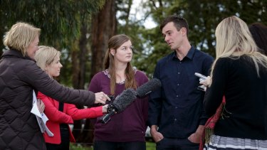 Mitchell and Ella Tromp have been the focus of media attention.