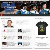 The Daily Stormer homepage on February 27.