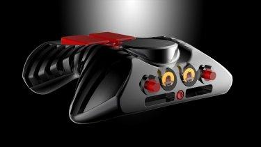 Ikarus' hifi components reflect classic 50s Formula One design.