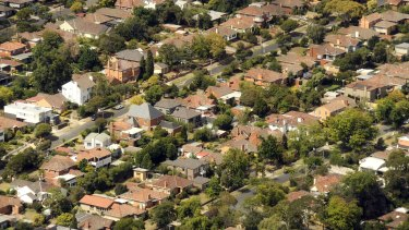 Leafy Eastern suburbs of Melbourne