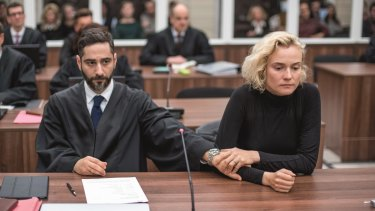 Diane Kruger and Denis Moschitto in <i>In the Fade</i>.