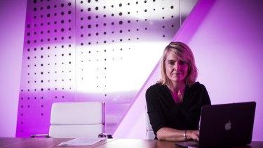 Network Ten chief digital officer Rebekah Horne.