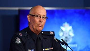 Assistant Commissioner Stephen Fontana says police are embarrassed by the mishandling of evidence.