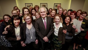One obvious place for Turnbull to start is with women.