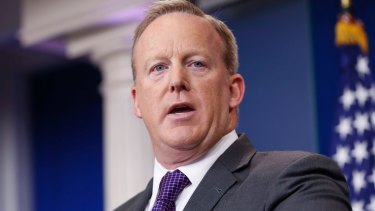 Sean Spicer resigned as White House press secretary over Anthony Scaramucci's appointment.