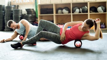 Foam rolling can exacerbate injury if you're not careful.