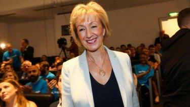Andrea Leadsom says being a mum means she has a bigger stake in the UK's future than childless rival Theresa May.