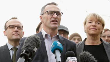 Federal Greens leader Richard Di Natale has suggested members of the Left Renewal faction consider joining another party.