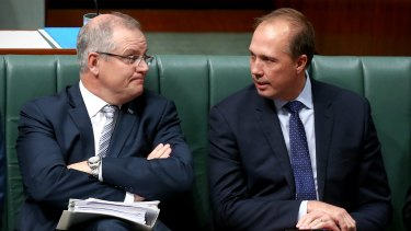 Treasurer Scott Morrison and Immigration Minister Peter Dutton have flagged a new battleground in the wake of same-sex marriage.