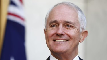 Prime Minister Malcolm Turnbull addresses the media after the result of the same-sex marriage postal survey.