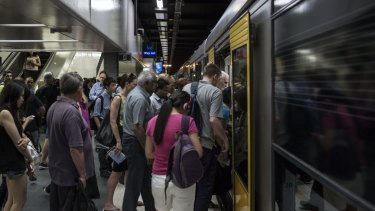 A simple operating change could help alleviate congestion on Sydney's crowded trains.