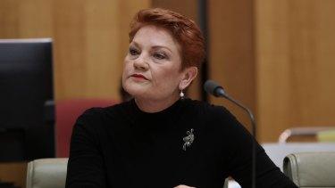 Senator Pauline Hanson has no special sympathy for Channel Ten.