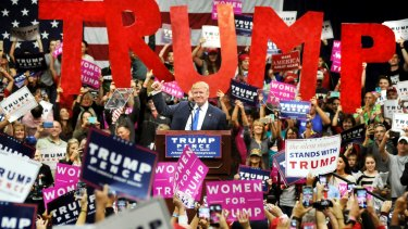 Donald Trump: loved in  Pennsylvania.