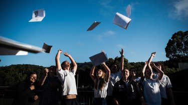 At 7am, more than 18,000 mobile phones will beep in unison as nervous students receive their ATAR via text message.