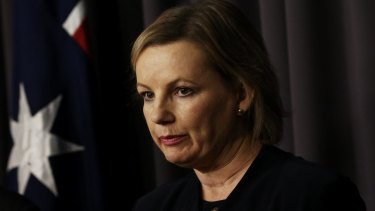 Health Minister Sussan Ley has a lot on her plate.