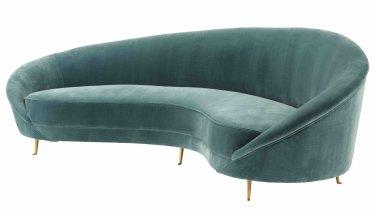 James Said Provocateur curved sofa.