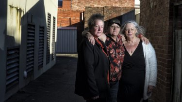 From left: Bronwyn Mohammed, Trish Dolan and Debbie McFarlane all spent time in Winlaton.