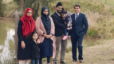 'Meet A Muslim' campaign members, from Baitul Huda Mosque in Marsden Park, are encouraging one-on-one contact with the community.