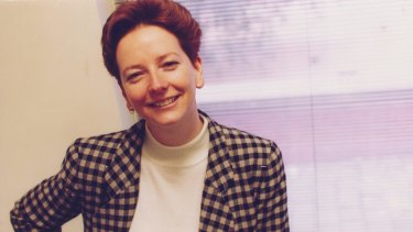 Julia Gillard photographed in 1994, during her time at Slater and Gordon.