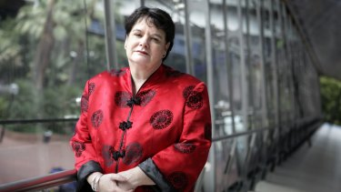 Sharan Burrow, president of the ACTU has spearheaded the Unions4Climate campaign.