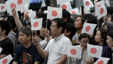 Japanese authorities are grappling with the fallout from the yen's almost 20 per cent surge against the dollar.