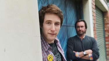 Writer/director Neil Triffett and producer Lee Matthews.
