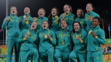Golden age: The win by Australia's women's sevens team in Rio could change the game forever.