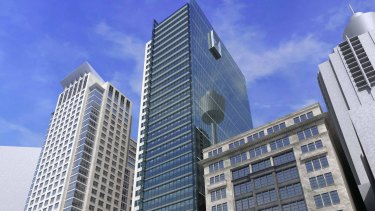 The 420 George Street office deal was struck on a yield of 5.3 per cent when Investa bought in.