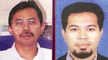 Jemaah Islamiyah militants Azahari bin Husin, left, and Noordin Mohamed Top.