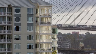 Pyrmont is one of Australia's most dense suburbs with 15,000 people per square kilometre.